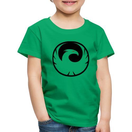 Phönix Logo Schattierung Phoenix schwarz black - Kinder Premium T-Shirt