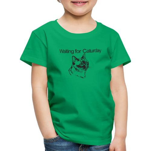 Caturday - Kids' Premium T-Shirt