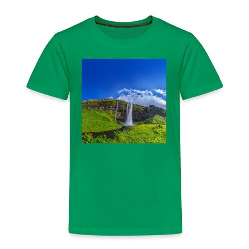 Seljalandsfoss - Kinder Premium T-Shirt