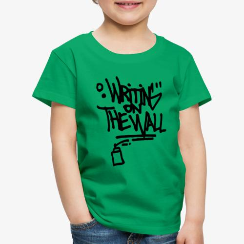 writing on the wall - T-shirt Premium Enfant