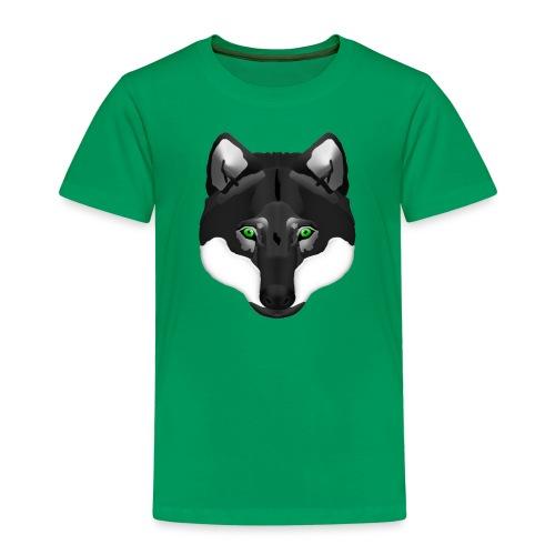 Wolf Head - Kinder Premium T-Shirt