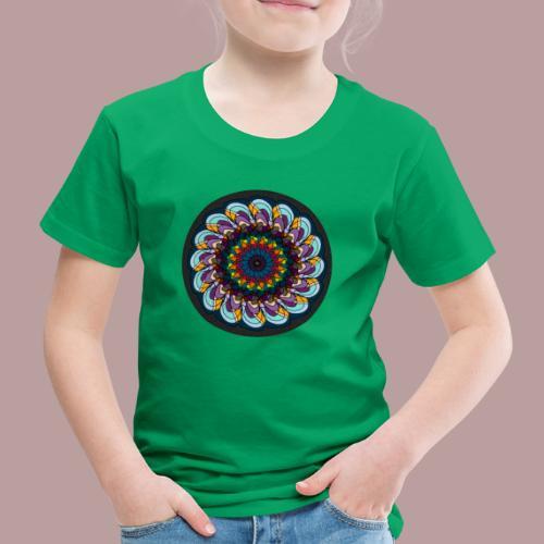 Grainy Flower - Kinder Premium T-Shirt