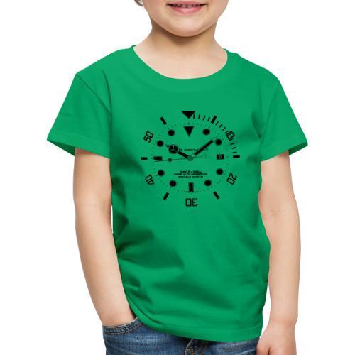 Submarine Luxury Watch Dial Details - Kids' Premium T-Shirt