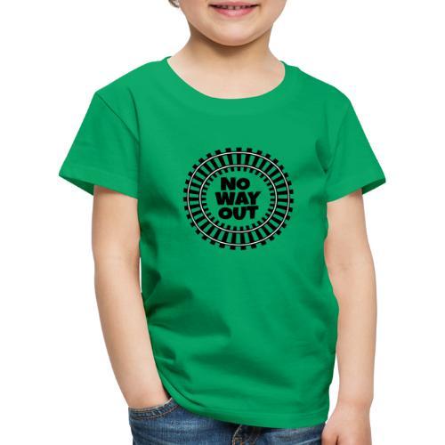 no way out - Camiseta premium niño