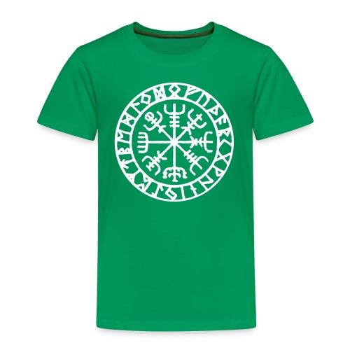 vegvisir Wegweiser Kompass Island Schutzsymbol - Kinder Premium T-Shirt