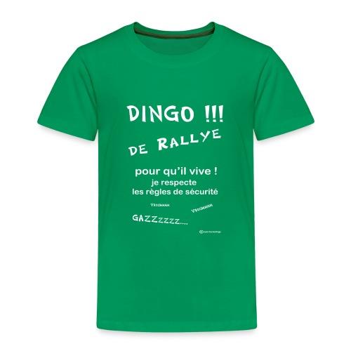 Dingo rallye pour qu il vive - T-shirt Premium Enfant