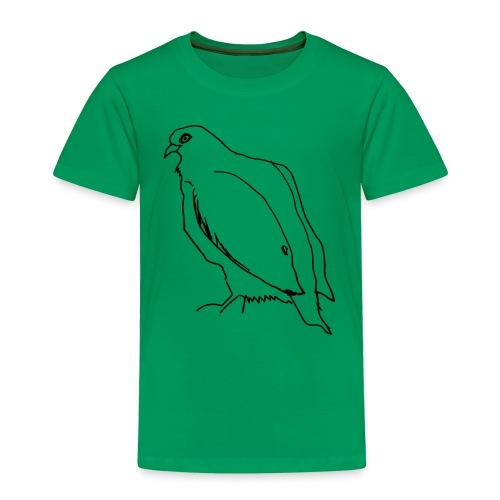 dove eats the last chestnut - Kids' Premium T-Shirt