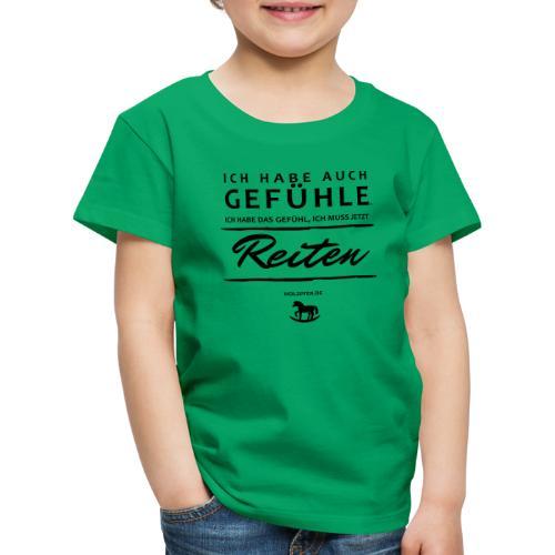 Gefühle - Reiten - Kinder Premium T-Shirt