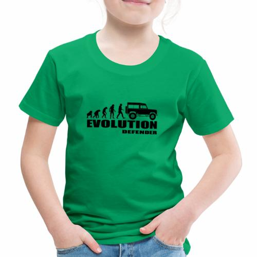 Evolution Defender - Kinder Premium T-Shirt