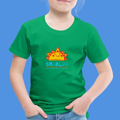 Sun - Maglietta Premium per bambini