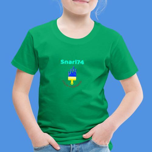 Paint - Maglietta Premium per bambini