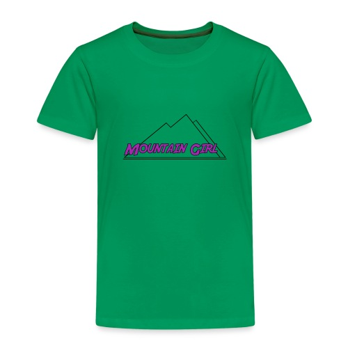 Mountain Girl - Kinder Premium T-Shirt