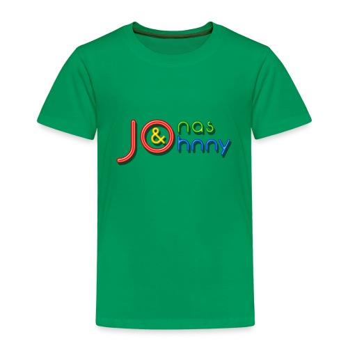 Jonas & Johnny logo - Premium-T-shirt barn