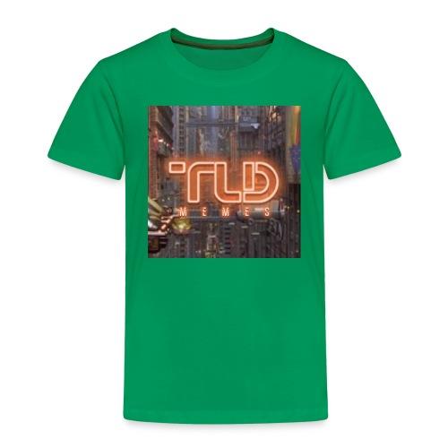 Logo of the lying dutchman retro style - Kinderen Premium T-shirt