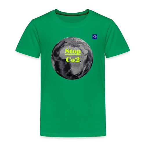 Co2-OuT! Save the Planet and your self! - Kinder Premium T-Shirt