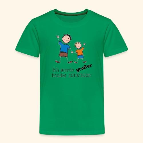 Ich werde grosser Bruder 2019 2020 - Kinder Premium T-Shirt