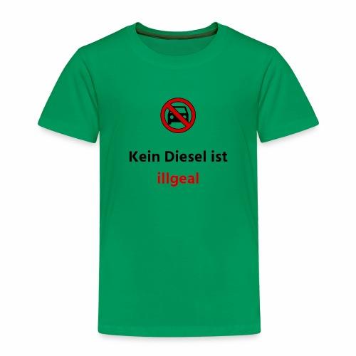 Kein Diesel ist illegal Verbot - Kinder Premium T-Shirt