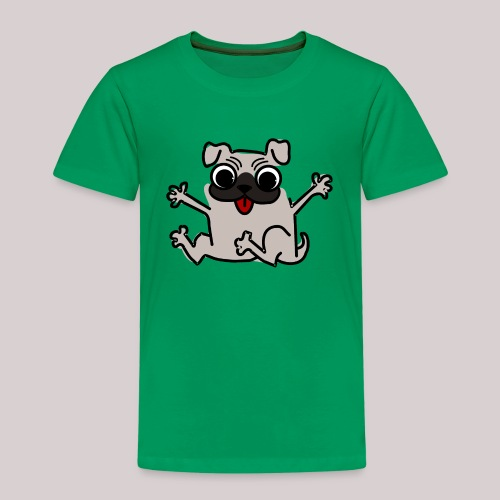 Hund Mops Hundeliebhaber - Kinder Premium T-Shirt