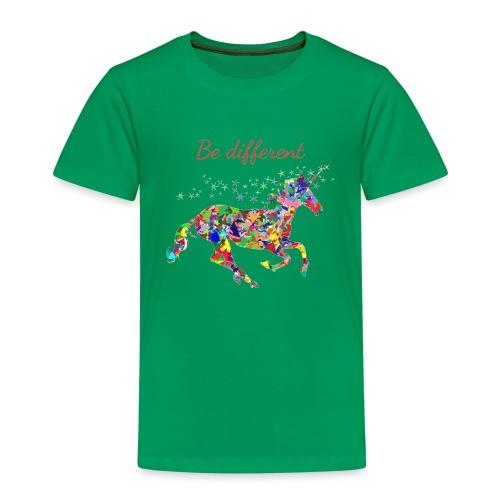 Fun T-Shirt Damen be different - Kinder Premium T-Shirt