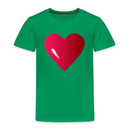 logo corazon rosa by Vexels - Camiseta premium niño