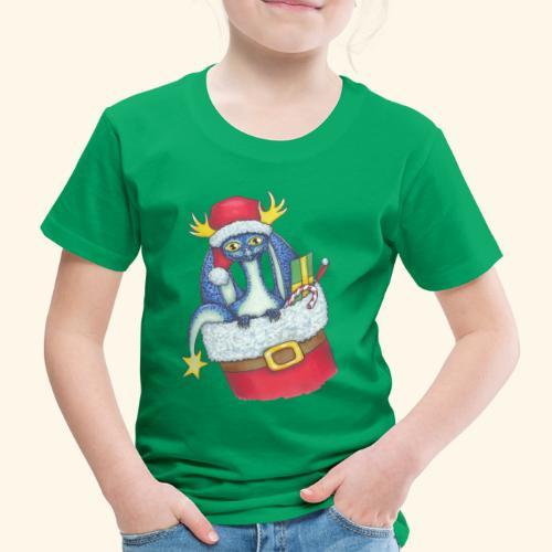 Juldrake - Premium-T-shirt barn