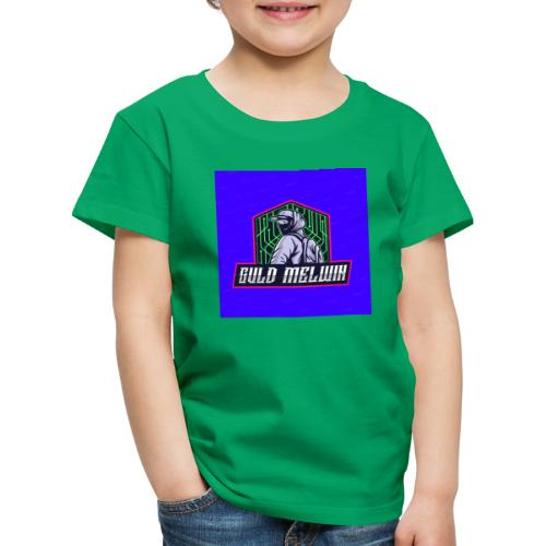 Guld Melwin - Premium-T-shirt barn