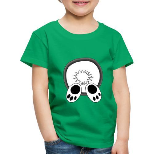 Das weiße Kaninchen verschwindet im rabbit hole - Kinder Premium T-Shirt