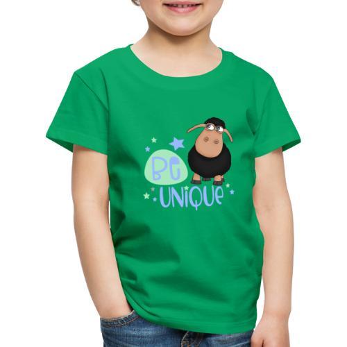schwarzes Schaf: Sei einzigartig - unique Schaf - Kids' Premium T-Shirt