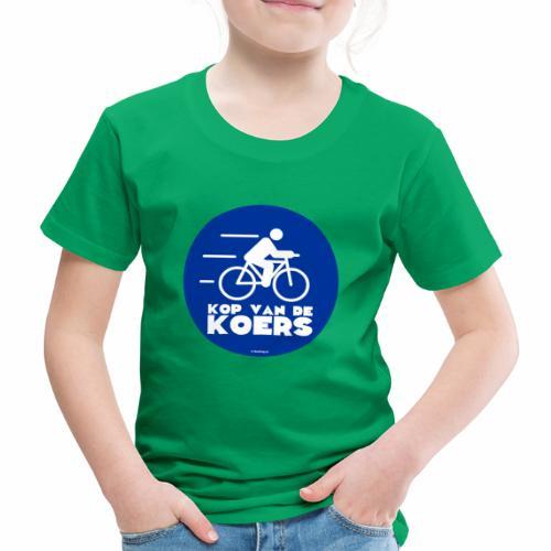 Kop van de koers - Kinderen Premium T-shirt