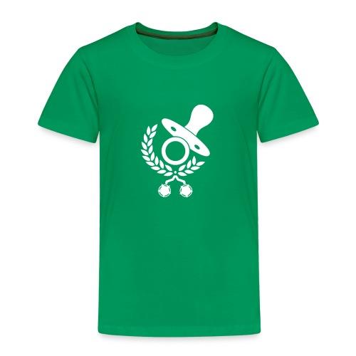 Baby Eltern Schwangere Logo - Kinder Premium T-Shirt