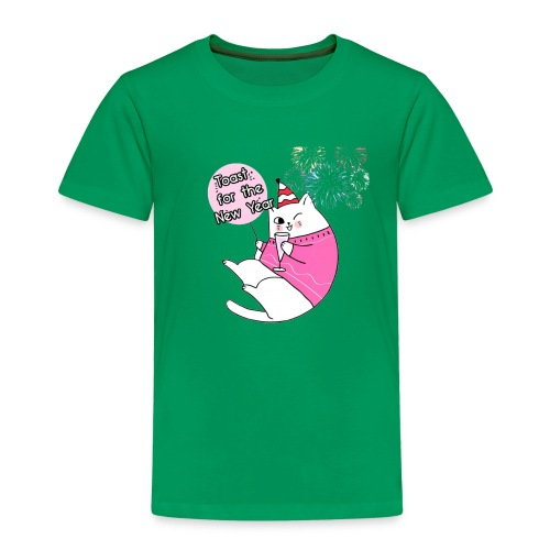 Toast for the New Year - Camiseta premium niño