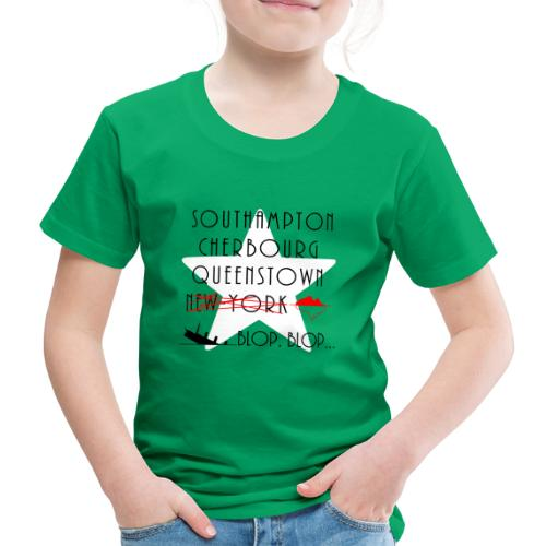 Épopée du Titanic... blop blop... - T-shirt Premium Enfant