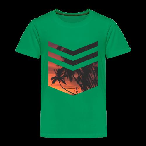 Palm Beach Triangle - Kinder Premium T-Shirt