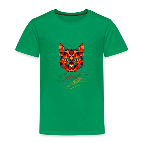 Straßen Cat (neumodisches Design) - Kinder Premium T-Shirt