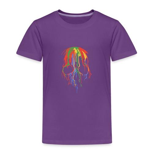 Skull and Colours - Camiseta premium niño