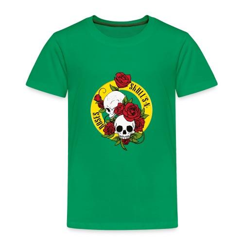 SKULL'S N ROSES - Camiseta premium niño