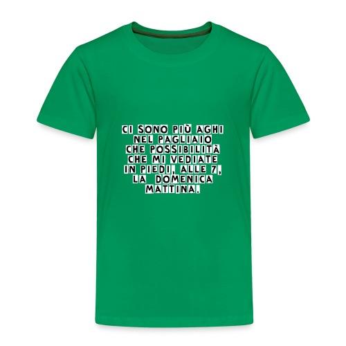AgoNelPagliaio - Maglietta Premium per bambini