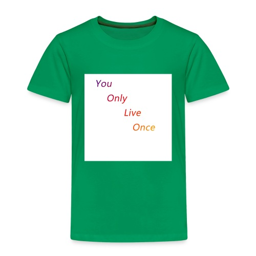 YOLO Bunt - Kinder Premium T-Shirt
