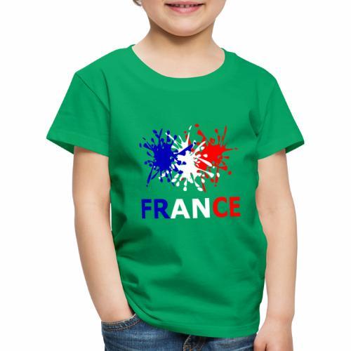 France - red white blue - Kids' Premium T-Shirt