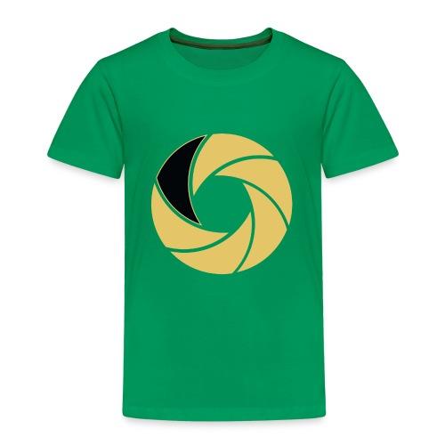 Studio303 nur Enblem Shutter - Kinder Premium T-Shirt