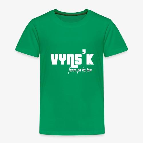 VYNS'K fanm pa ka taw - T-shirt Premium Enfant