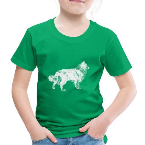 Collie negativ - Kinder Premium T-Shirt