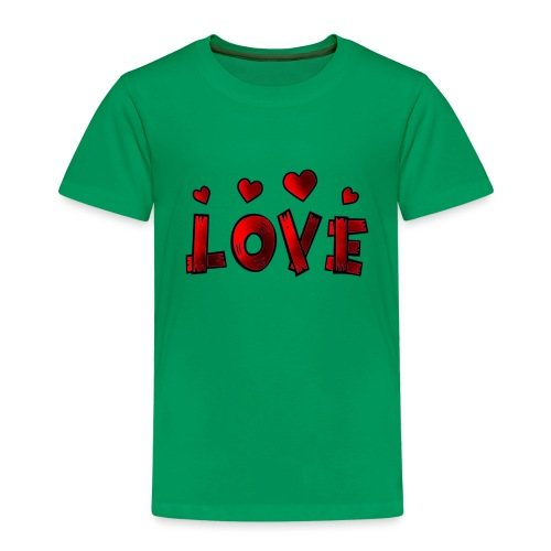 Love - Kinder Premium T-Shirt