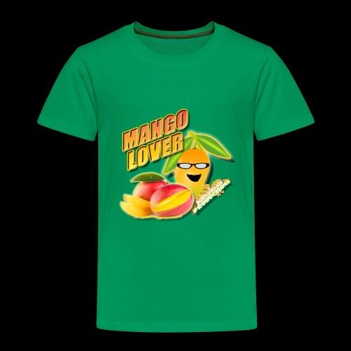 Mango Lover Kansidah Design - Kinder Premium T-Shirt