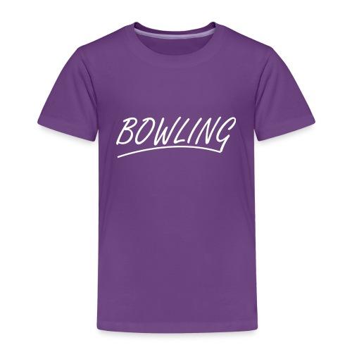 Bowling souligné - T-shirt Premium Enfant