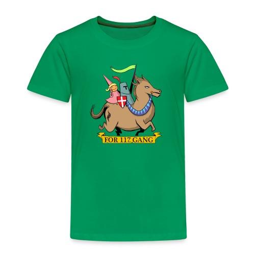 117 Shop - Børne premium T-shirt