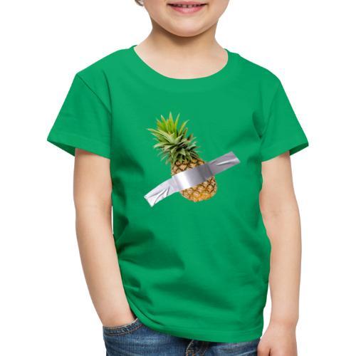 Pineapple Art - Maglietta Premium per bambini