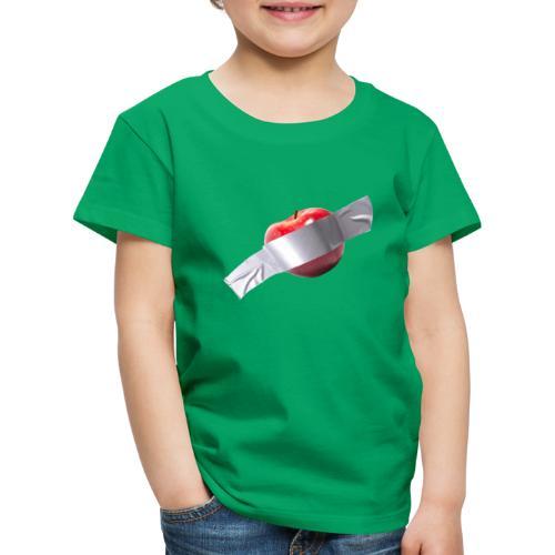 Apple Art - Maglietta Premium per bambini