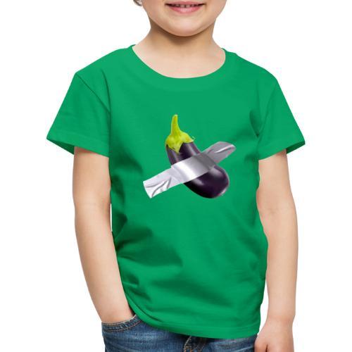 Eggplant art - Maglietta Premium per bambini