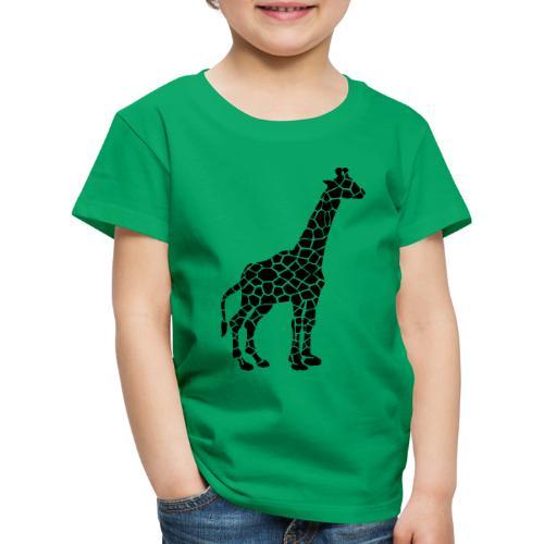 Giraffe (black) - Lasten premium t-paita